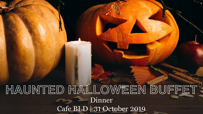 View Haunted Halloween Buffet at Cafe BLD @ Renaissance Hotel Johor Bahru