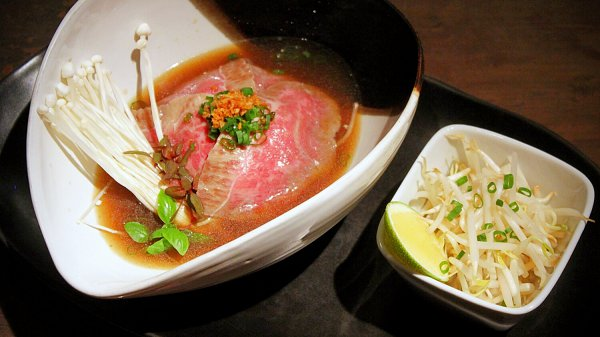 View Wagyu Pho with Buckwheat Noodles