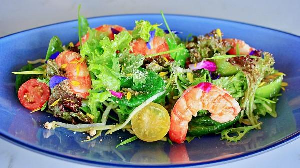View Market Salad at Horizon Grill @ Banyan Tree Kuala Lumpur