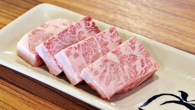 View Thick-Cut Superior Wagyu at Momotalo Yakiniku