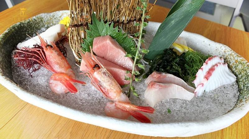 View Ume Sashimi at Kimiya