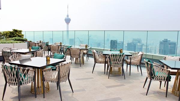 Horizon Grill at Banyan Tree Kuala Lumpur Alfresco Dining