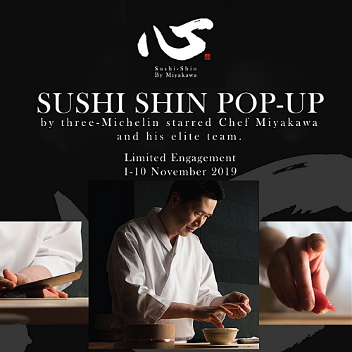 View Sushi Shin Popup at Kampachi EQ