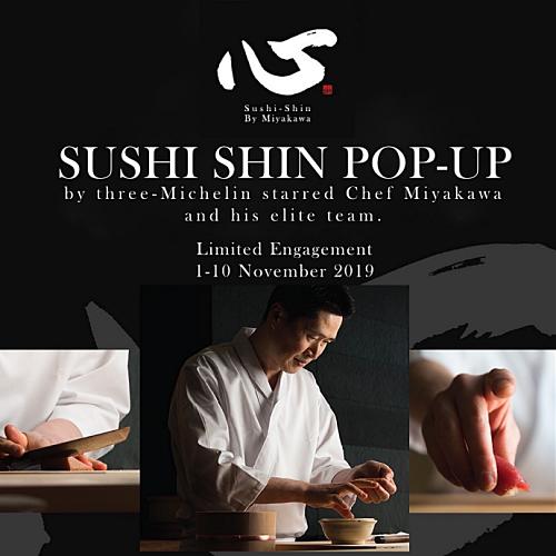 View Sushi Shin Popup at Kampachi EQ