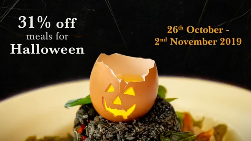 View Halloween Menu at PLOY @ Clear Water