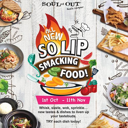 View New Dishes at Souled Out Sri Hartamas
