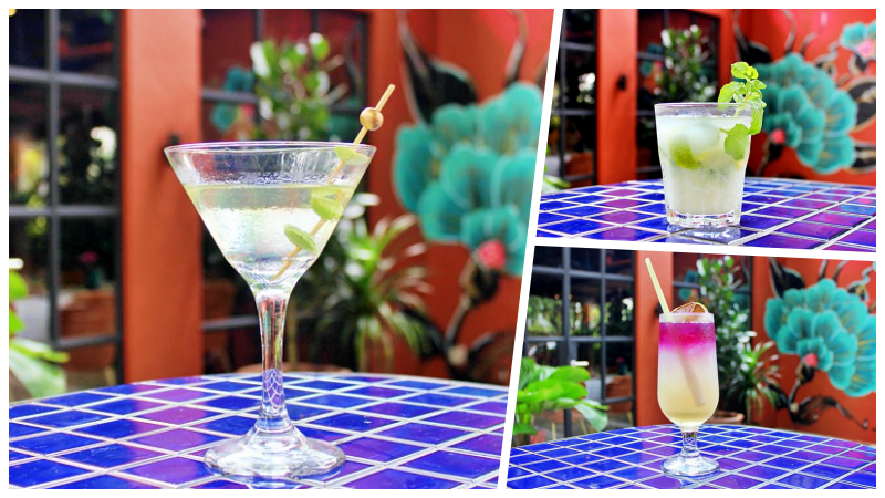 View Stinkini, Cocojito and Bluepea Tonic at Bijan Bar & Restaurant