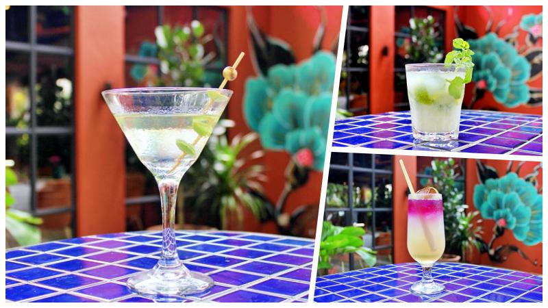 View Stinkini, Cocojito and Bluepea Tonic at Bijan Bar & Restaurant