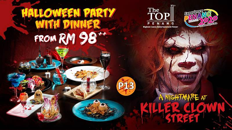 View Halloween at Top View Restaurant and Lounge