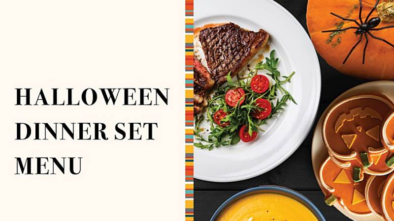View Halloween Dinner Set Menu at Tosca @ DoubleTree by Hilton Hotel Melaka