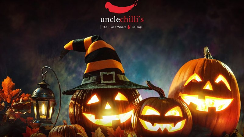 View Halloween at Uncle Chilli's Bar and Restaurant at Hilton Petaling Jaya Halloween Menu