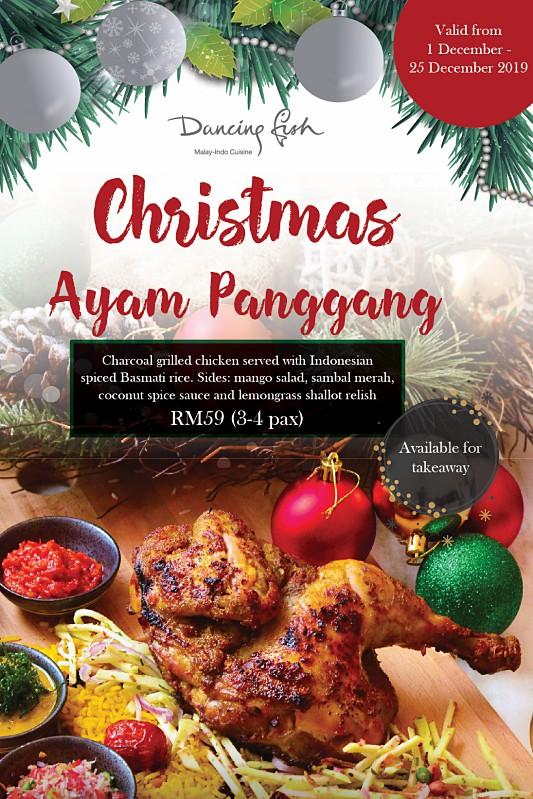 View Christmas Ayam Panggang at Dancing Fish