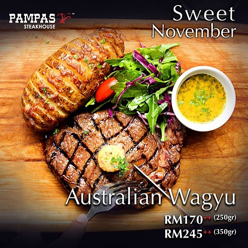 View Steak Promo at Pampas Sky Dining