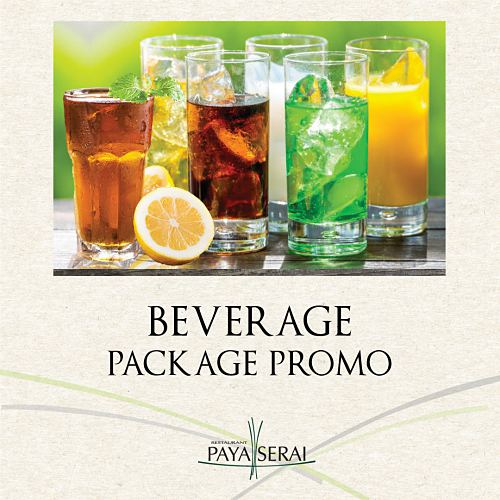 View Beverage Package Promo at Paya Serai