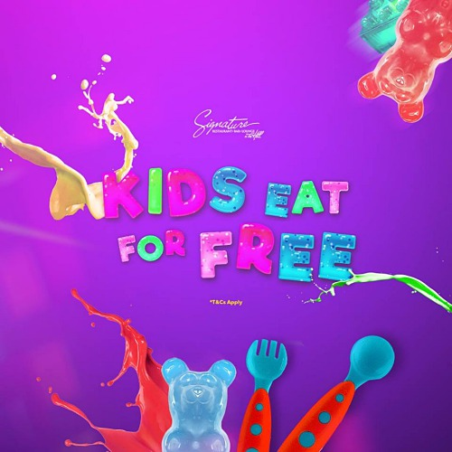 View Kids Eat For Free Promo at Stratosphere