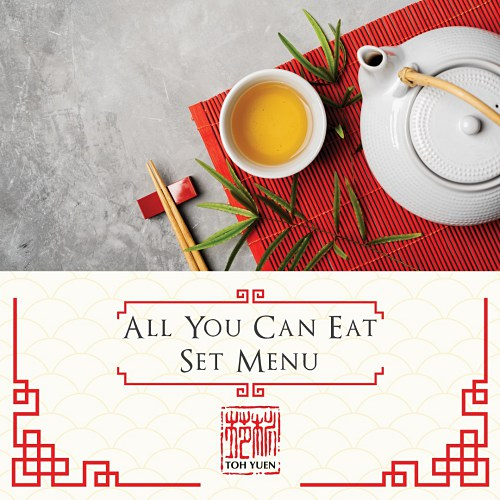 View All You Can Eat Set Menu at Toh Yuen @ Hilton Petaling Jaya