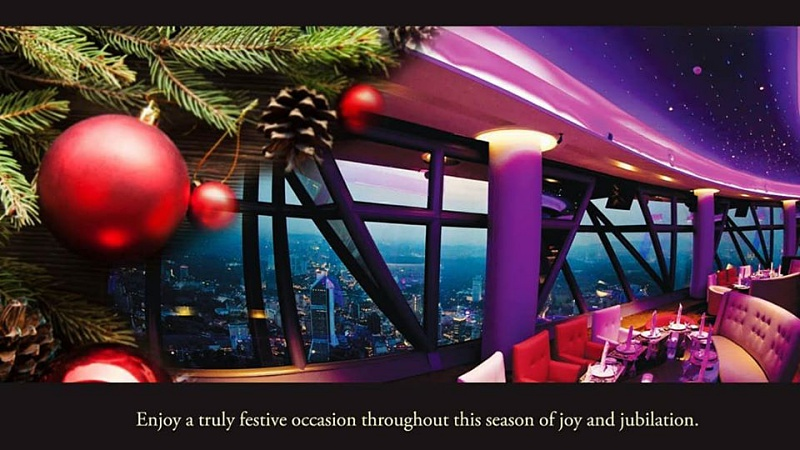 View Christmas Buffet at Atmosphere 360 Revolving Restaurant KL Tower