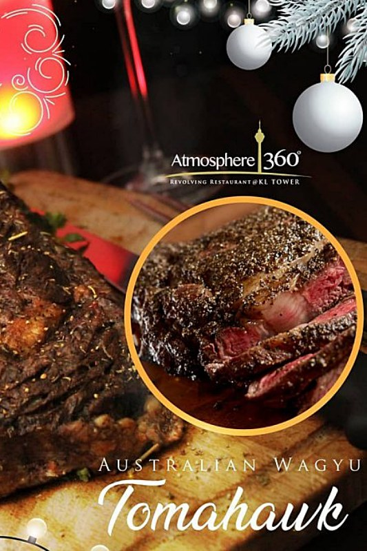 View New Year's Menus at Atmosphere 360