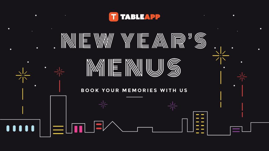 View New Year's Menus 2020!
