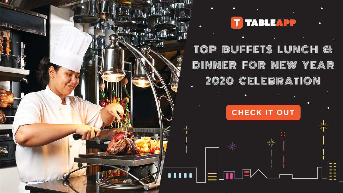 Top New Year's Lunch and Dinner Buffets for New Year 2020 Celebration!