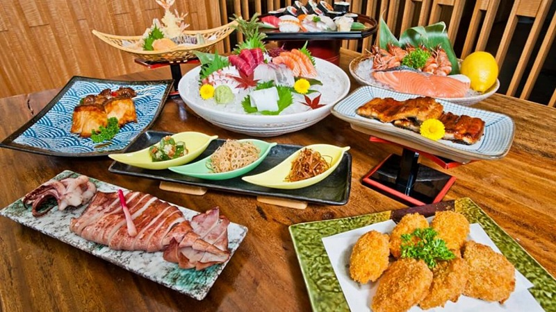 View Saturday A La Carte Buffet at Kampachi Plaza 33