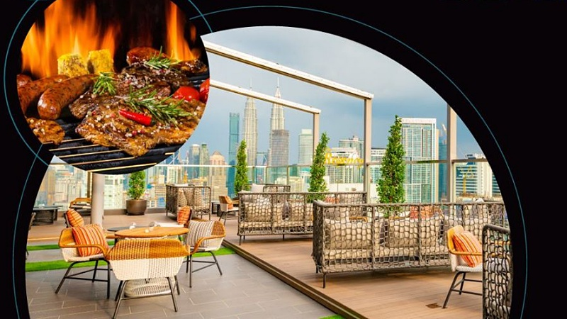 View Christmas Buffet at Rooftop 25 Bar & Lounge