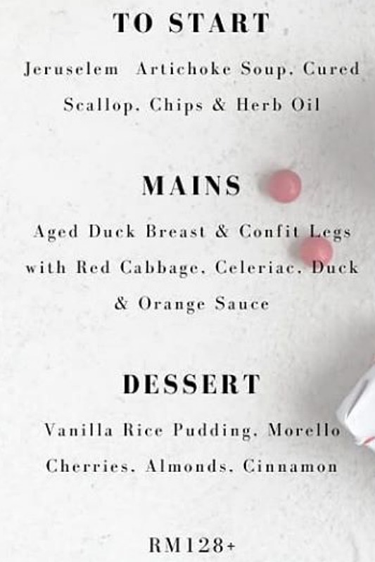 View Christmas Day Menu at ROOST