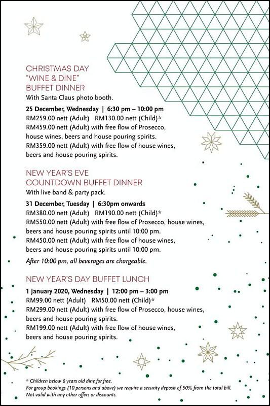 View New Year's Menu at Sarkies