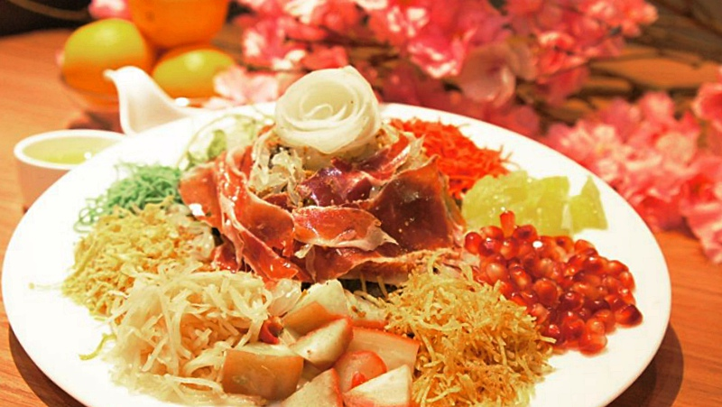 View Top Yee Sang at ANTE
