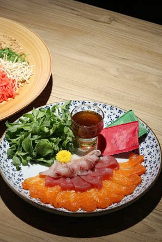 View Yee Sang at Hana Dining + Sake Bar