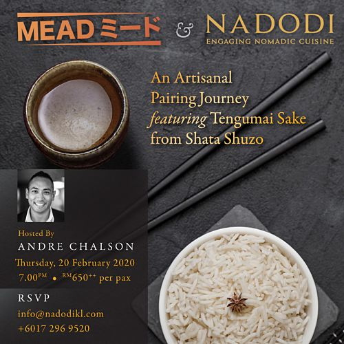 View Mead x Nadodi Sake-Pairing Dinner