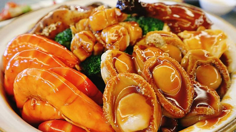View CNY Menu at One Seafood Restaurant