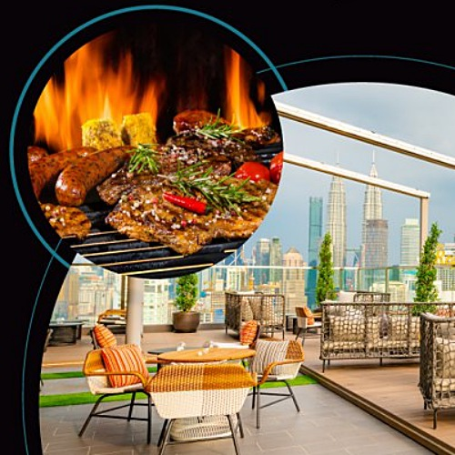 View Rooftop 25 BBQ