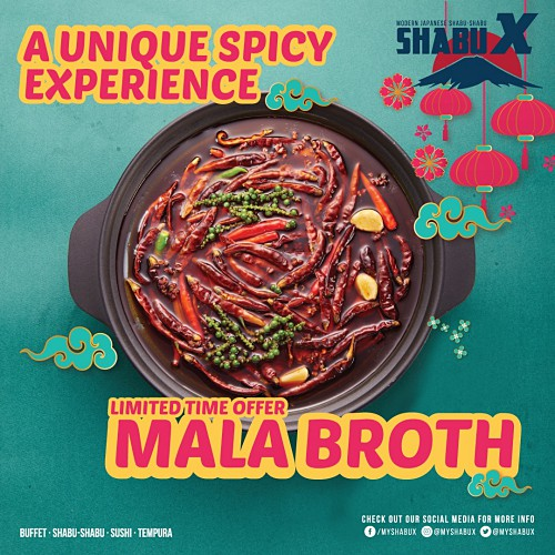 View Limited Mala Broth at Shabu X