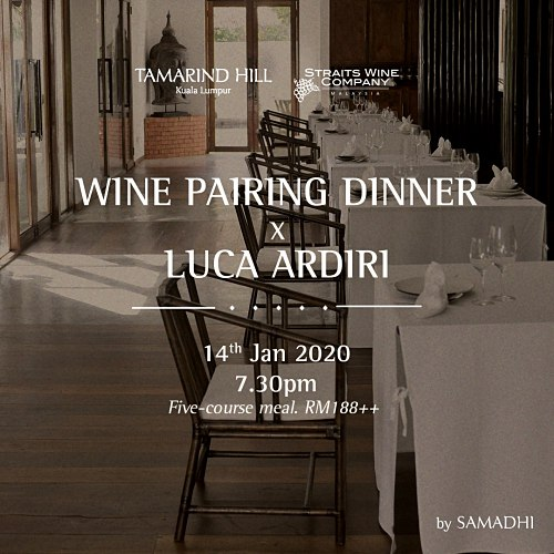 View Wine Pairing Dinner x Luca Ardiri