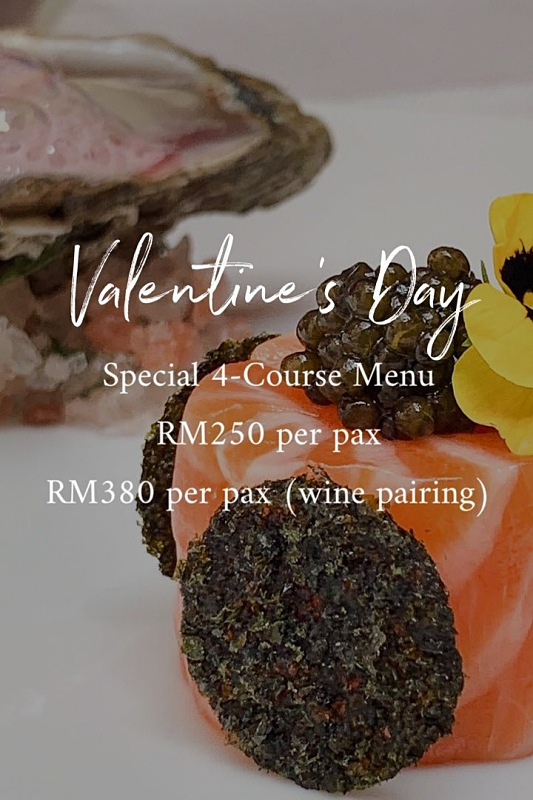 View Valentine's Menu at Two-Ox French Bistro Bar