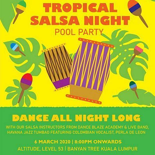 View Tropical Salsa Night at Altitude @ Banyan Tree Kuala Lumpur