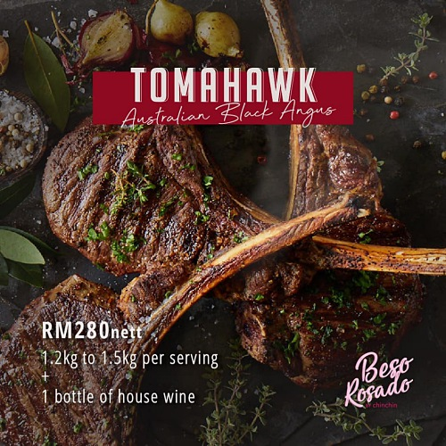 View Tomahawk Promo at Beso Rosado