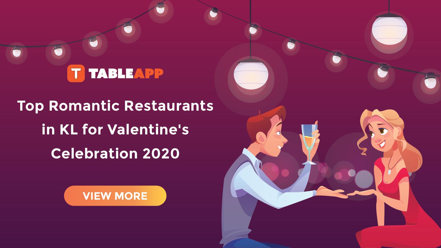 View Top Romantic Restaurants in KL