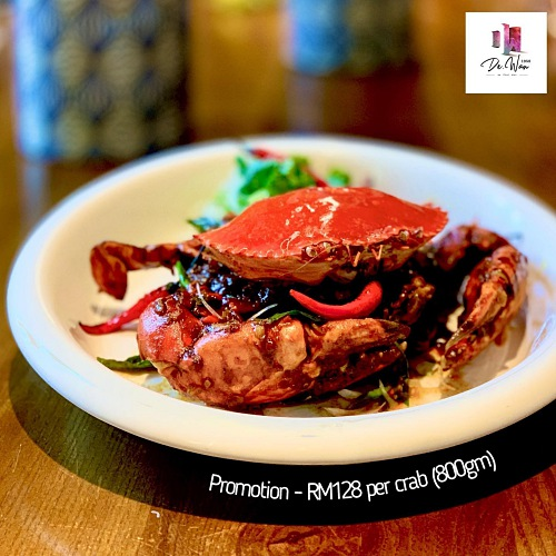 View Crab & Lobster Promo at De.Wan by Chef Wan 1958