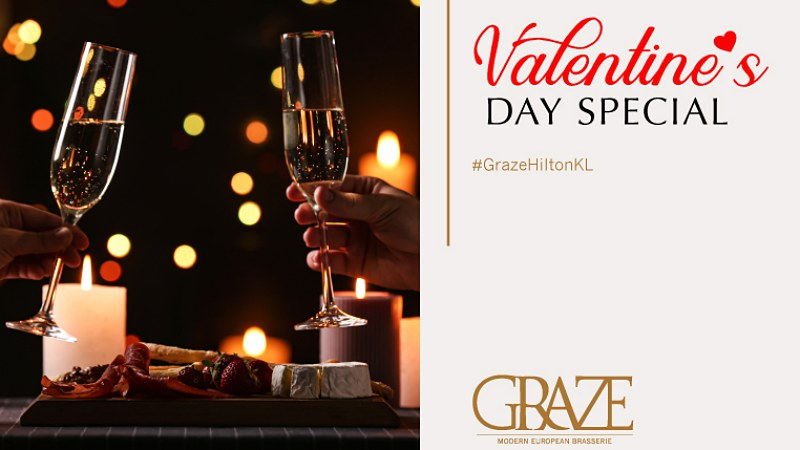 View Top Romantic Restaurants in Kuala Lumpur for Valentine's Day 2020 - Graze