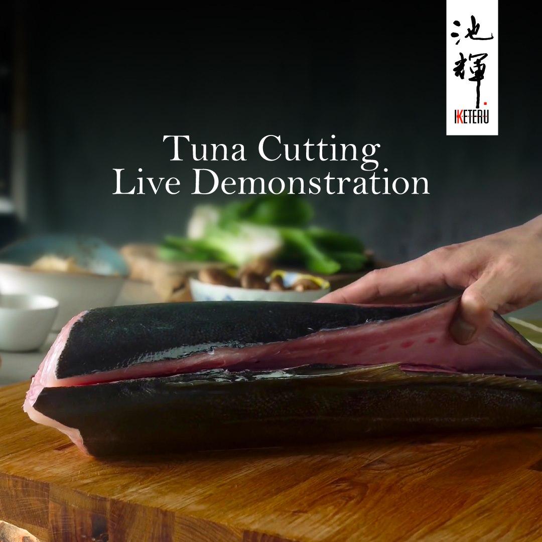 View Tuna Cutting Promo at Iketeru at Hilton Kuala Lumpur