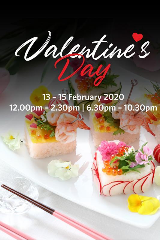 View Valentine's Menu at Iketeru @ Hilton Kuala Lumpur