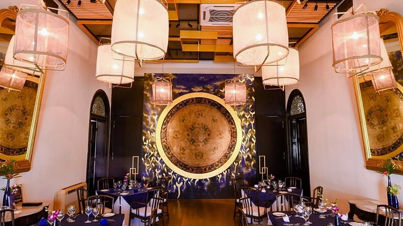 View Top Romantic Restaurants in Penang for Valentine's Day 2020 - Indigo @ The Blue Mansion