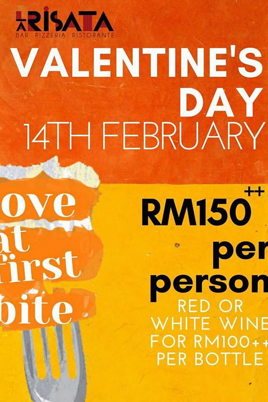 View Valentine's Menu at La Risata