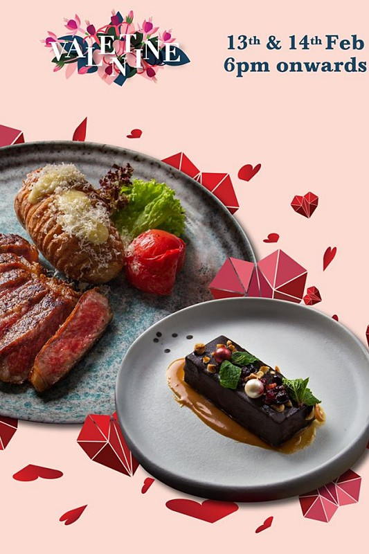 View Valentine's Menu at PLOY