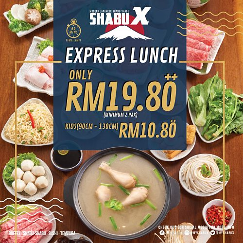View Express Lunch at Shabu X