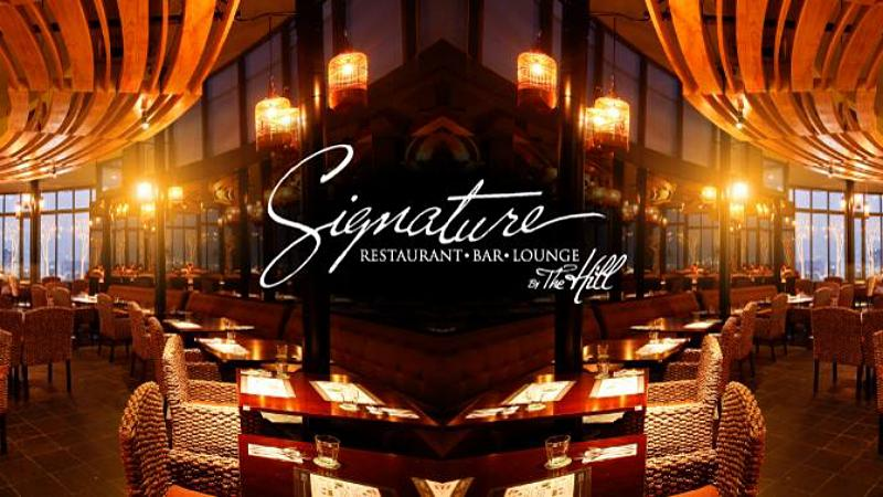 View Valentine's Menu at Signature