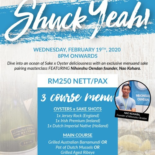 View ShuckeYeah Event at Southern Rock Seafood