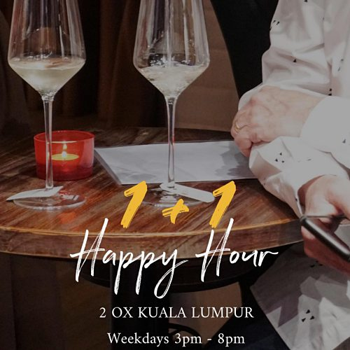 View Happy Hour Promo at Two-Ox French Bistro Bar